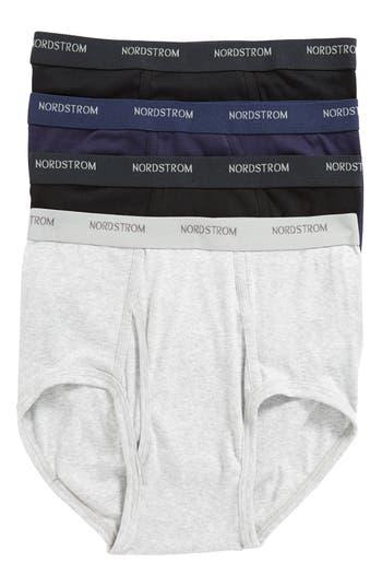 Nordstrom Men's Shop 4-Pack Supima® Cotton Briefs