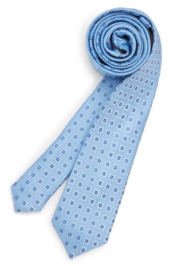 Boys Michael Kors Box Neat Silk Tie Size One Size Big Boy  Blue