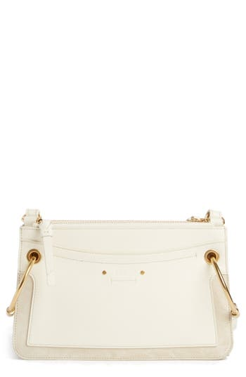 Chloé Small Roy Leather Crossbody Bag
