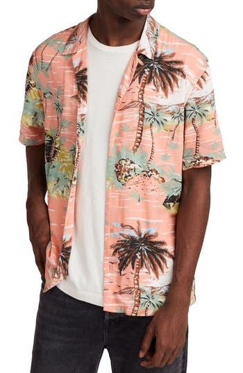 Men's Allsaints Luau Camp Shirt