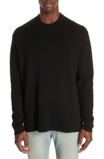 Acne Studios Nicha Wool & Cotton Blend Sweater