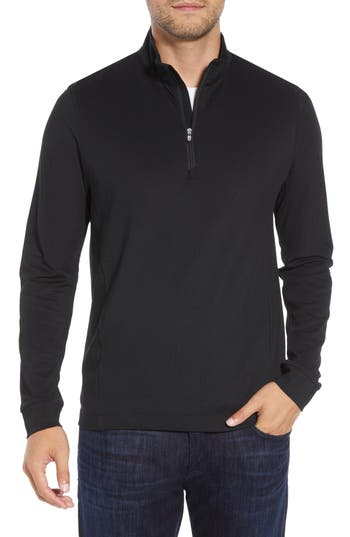 Cutter & Buck Advantage Regular Fit DryTec Mock Neck Pullover