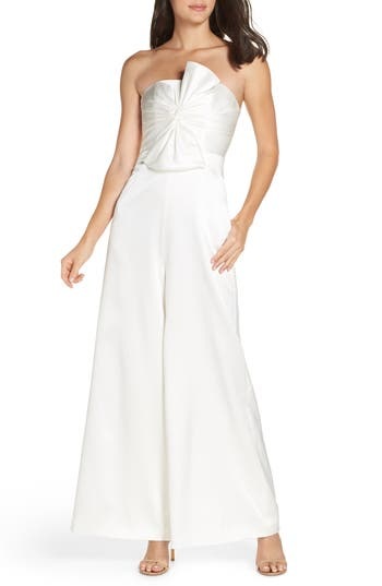 Fame and Partners Annie Strapless Jumpsuit