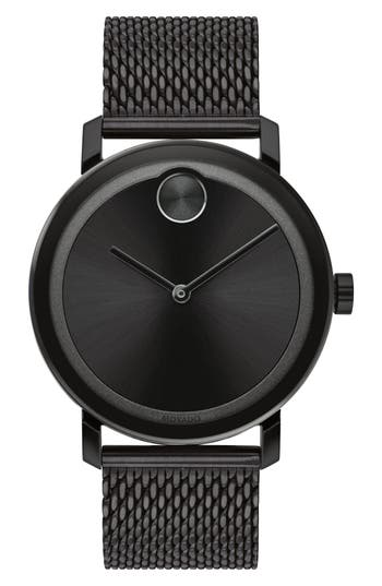 Movado Bold Evolution Mesh Bracelet Watch, 40mm
