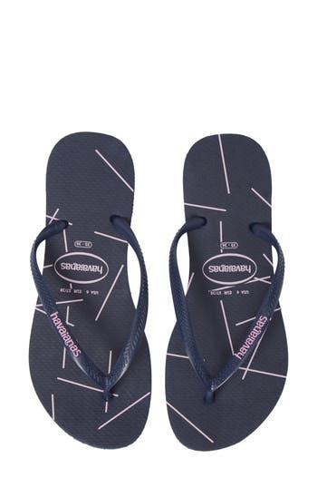 Havaianas Slimstripes Flip Flop (Women)