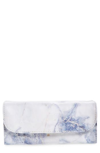 Violet Ray New York Multi Pouch Makeup Roll Bag