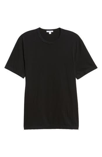 Men's James Perse Microstripe Ringer T-Shirt