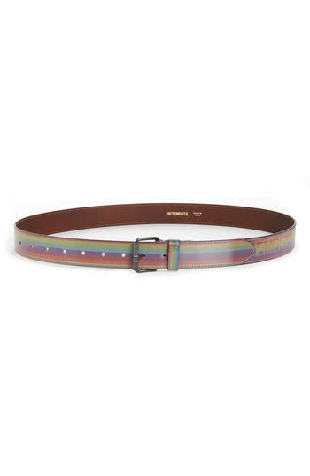 Vetements Hologram Belt