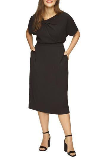 Universal Standard Twill Pencil Skirt