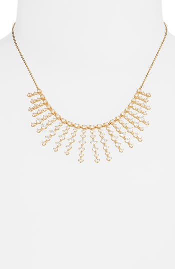 Nordstrom Stone Bar Bib Statement Necklace