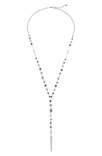 Nakamol Design Freshwater Pearl Bead Y Necklace