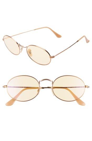 Ray-Ban Evolve 54mm Polarized Oval Sunglasses