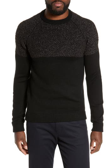 Ted Baker London Arks Slim Fit Textured Crew Sweater