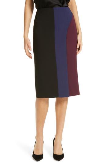 BOSS Velivia Colorblock Pencil Skirt