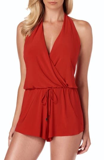 Magicsuit® Bianca One-Piece Romper Swimsuit
