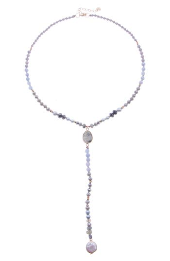 Nakamol Design Beaded Y-Necklace