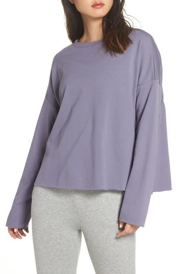 Zella Gather Back Sweatshirt