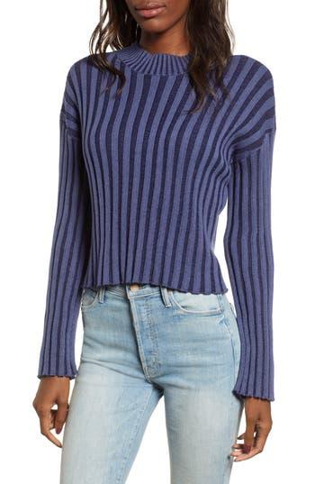 BP. Shadow Rib Crop Sweater