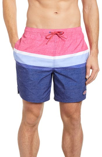 vineyard vines Deck Stripe Chappy Swim Trunks