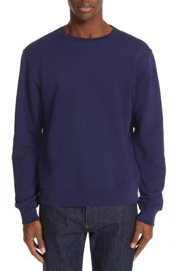 Maison Margiela Elbow Patch Crewneck Sweatshirt