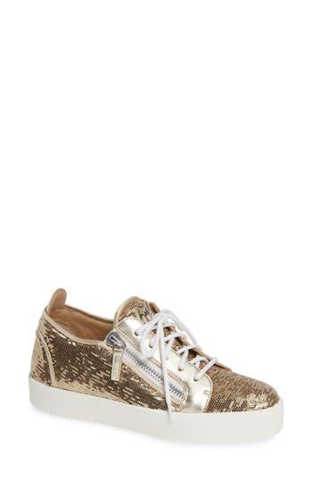 Giuseppe Zanotti May London Flippable Sequin Sneaker