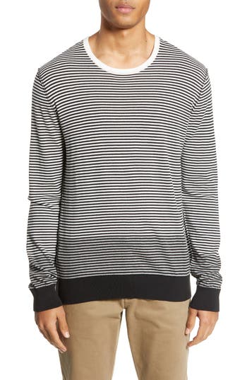 ATM Anthony Thomas Melillo Stripe Colorblock Sweater