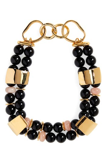 Lizzie Fortunato Reflection Collar Necklace