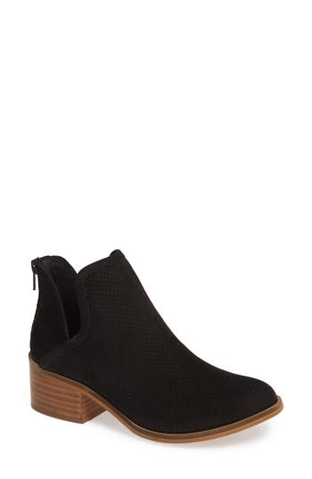 Steve Madden Lancaster Perforated Bootie