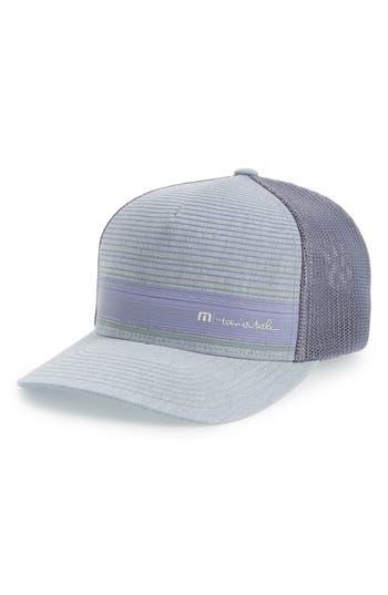 Travis Mathew Brown Stretch Trucker Hat