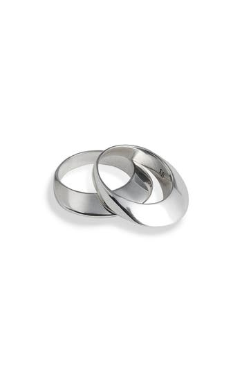 Sophie Buhai Set of 2 Disc Stacking Rings