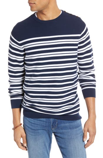 1901 Stripe Crewneck Sweater