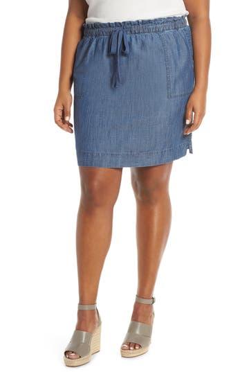 Caslon® Paperbag Waist Skirt