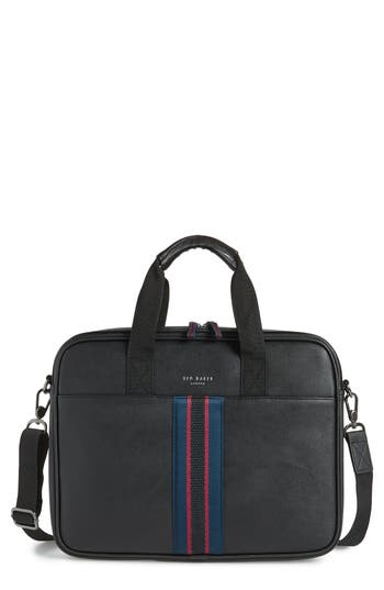 Ted Baker London Faux Leather Document Bag