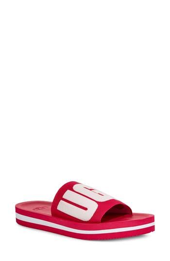 UGG® Zuma Logo Slide Sandal (Women)