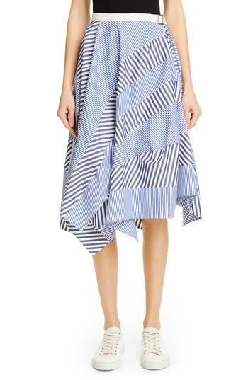 Tricot Comme des Garçons Multistripe Cotton Skirt