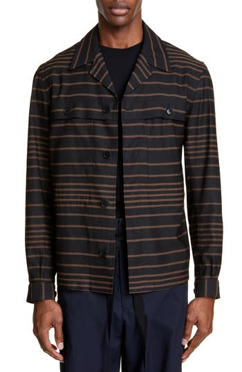 Dries Van Noten Crola Shirt Jacket
