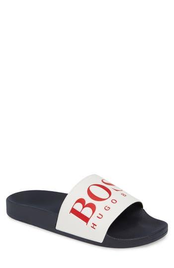 BOSS Solar Slide Sandal