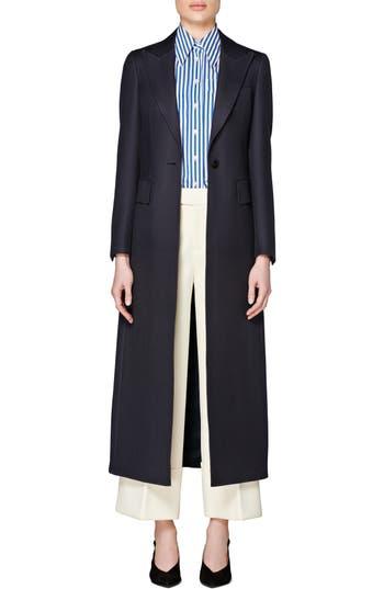 SUISTUDIO Dane Italian Wool Overcoat