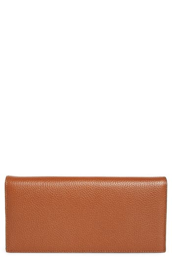 Nordstrom Hunter Leather Continental Wallet
