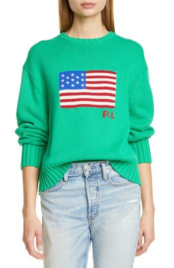 Polo Ralph Lauren Flag Cotton Sweater
