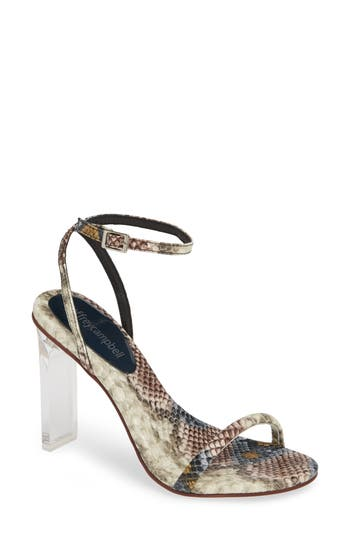 Jeffrey Campbell Vaccine Clear Heel Sandal (Women)