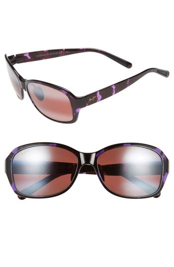 Maui Jim Koki Beach 5m Polarizedplus2 Sunglasses - Purple Tortoise/ Maui Rose