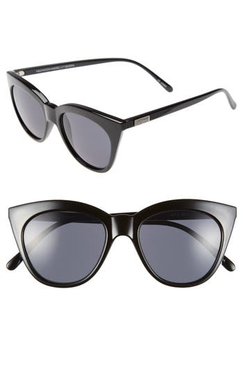 Women's Le Specs Halfmoon Magic 51Mm Cat Eye Sunglasses -