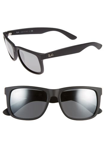 Ray-Ban 5m Sunglasses - Black/ Grey Mirror Silver