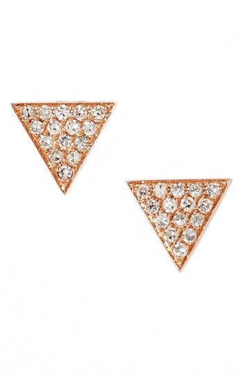 Dana Rebecca Designs 'Emily Sarah' Diamond Pavé Triangle Stud Earrings