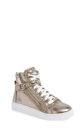 Girl's Michael Michael Kors 'Ivy Rory' High Top Sneaker