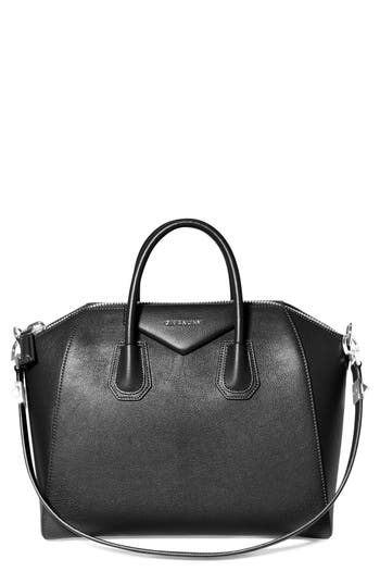 Givenchy 'Medium Antigona' Sugar Leather Satchel -