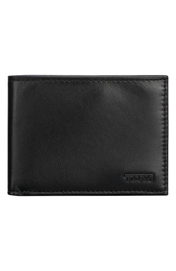 Tumi Delta Double ID Lock™ Shielded Leather Wallet