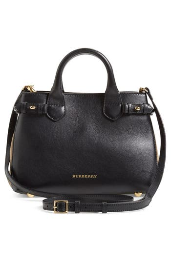 Burberry 'Small Banner' Leather Tote -