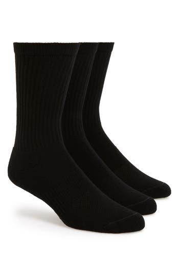 Nordstrom Men's Shop 3-Pack Athletic Socks